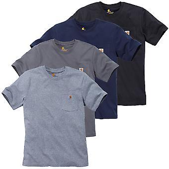 Carhartt men's T-Shirt work Pocket