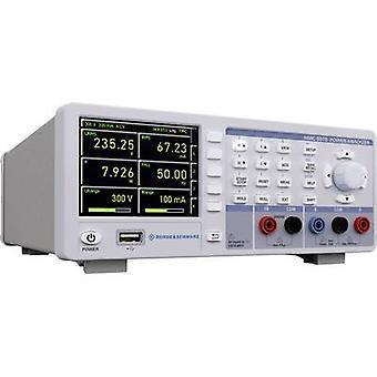 Rohde & Schwarz HMC8015 Network diagnostics 1-phase Data logger