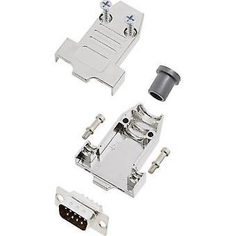 encitech DTNT09-M-DMP-K 6355-0070-11 D-SUB pin strip set 180 ° Number of pins: 9 Solder bucket 1 Set