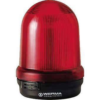 Werma Signaltechnik Valo 828.100.55 828.100.55 Punainen Salama 24 V DC