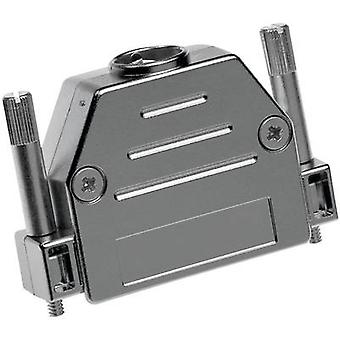 Provertha 17090M38T001 D-SUB housing Number of pins: 9 Plastic, metallised 180 ° Silver 1 pc(s)