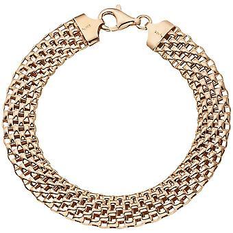 gold plated bracelet 925 sterling silver gold plated 21 cm carabiner