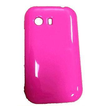 Quality One Wireless Anti Skid Slim Gel Case for Samsung Galaxy Y S5360 - Pink