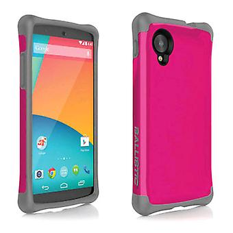 Ballistic Aspira Series Case for LG Nexus 5 (Raspberry/Charcoal)
