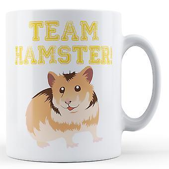 Team Hamster - Printed Mug