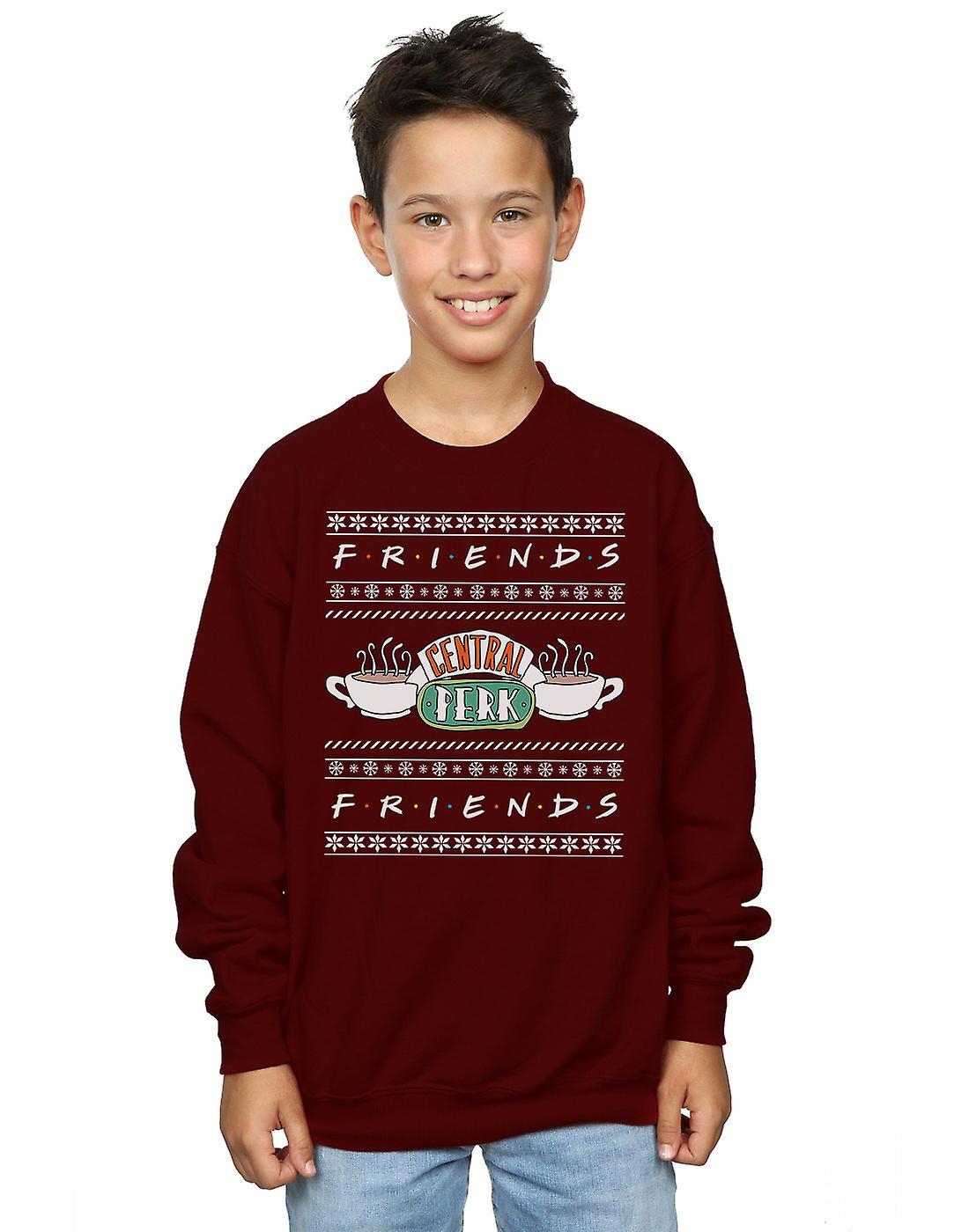 Friends Boys Fair Isle Central Perk Sweatshirt