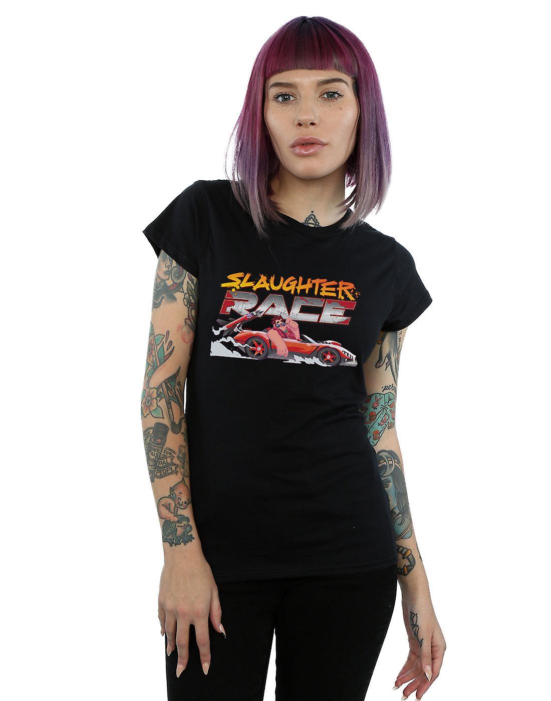 Disney Women's Wreck It Ralph Slaughter Race T-Shirt