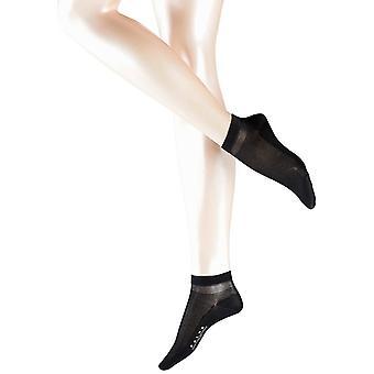 Falke bawełniane skarpety krótkie Delight - czarny