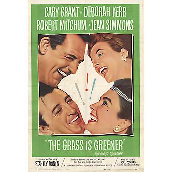The Grass Is Greener Movie Poster (11 x 17)