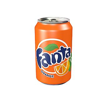 Lattine di Fanta Orange