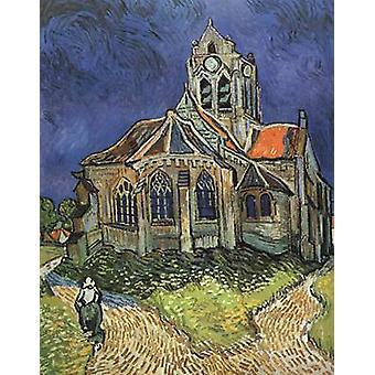 الكنيسة في أوفرز, فنسنت فان جوخ, 50x40cm