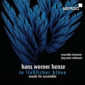 H. Henze - Hans Werner Henze: In Lieblicher Bl Ue, Musik F R Ensemble [CD] USA import
