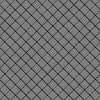 Metal mosaic Stainless Steel ALLOY Diamond-S-S-B