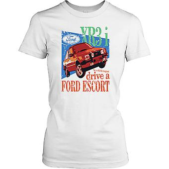 Ford Escort XR3i - Chick Magnet Ladies T Shirt