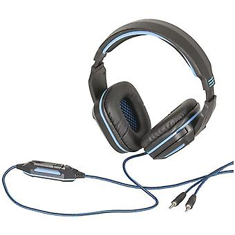 TechBrands Gaming Headphones w/ Adjustable Microphone