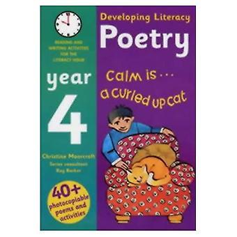 Utvikle kompetanse: Poesi: år 4: lesing og skriving aktiviteter for Literacy time (utvikle kompetanse)