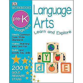 DK-arbetsböcker: Language Arts, Pre-K [med Sticker(s)]