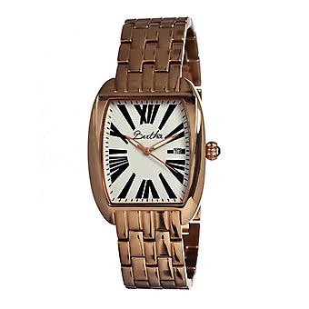 Bertha Anastasia Ladies Bracelet Watch w/Date - Gold/Black