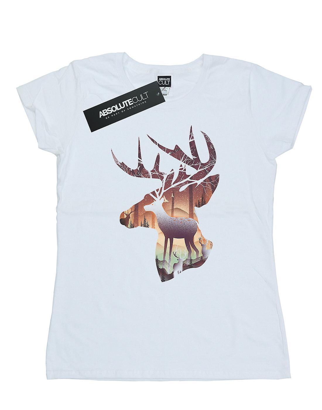 Dan Dingeroz Women's Deer Forest T-Shirt
