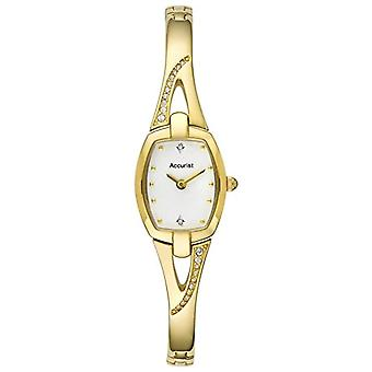 Accurist wrist watch, female, stainless steel, gold (1)