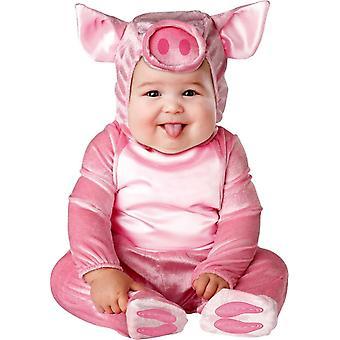 Costume enfant cochon rose