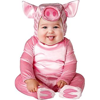 Pink Piggy Toddler Costume