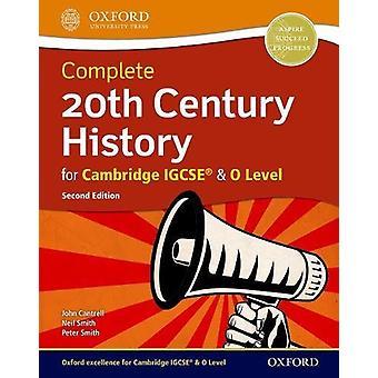 إكمال تاريخ القرن العشرين كامبردج ب IGCSE (R) ومستوي س