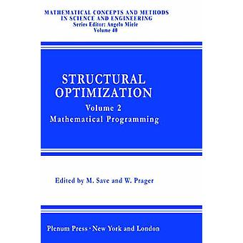 التحسين الهيكلي حجم 2 البرمجة الرياضية التي بوركوسكي & أ