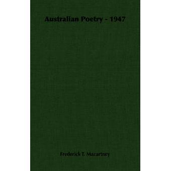 Poesia australiana 1947 di Macartney & Frederick T.