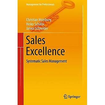 Excelencia ventas gerencia de ventas sistemático por Homburg y cristiano