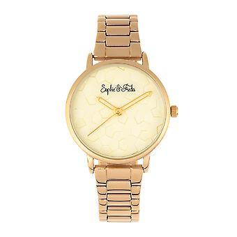 Sophie & Freda Breckenridge Bracelet Watch - Gold
