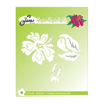 Par Lene Hawaii Flower Cutting & Embosser Die