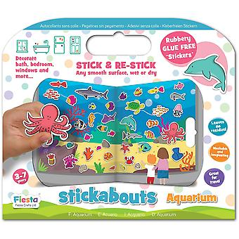 Fiesta Crafts Stickabouts Aquarium
