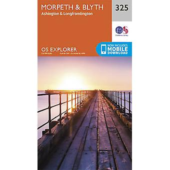Morpeth and Blyth by Ordnance Survey - 9780319245774 Book