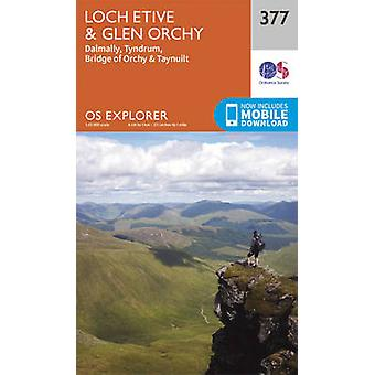 Loch Etive and Glen Orchy (September 2015 ed) by Ordnance Survey - 97