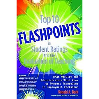 Top 10 Flashpoints in Student Ratings and the Evaluation of Teaching -