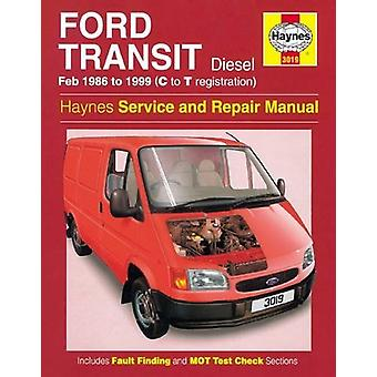 Ford Transit Diesel Service and Repair Manual - 1986-1999 by Anon - 97
