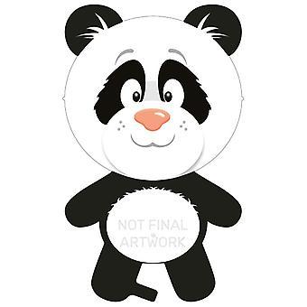 Forme feuille ballon Panda Pandabär 50x90 cm ballon d'hélium