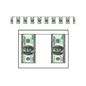$100 Bill Pennant bannière