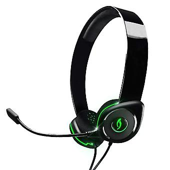 PDP Afterglow AGX.40 Wired Headset Green Xbox 360