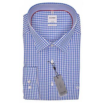 OLYMP Olymp Formal Gingham Long Sleeve Shirt