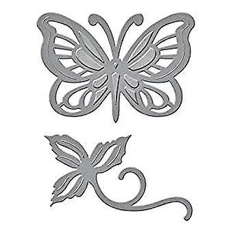 Spellbinders Die D-Lites - Блестящая бабочка