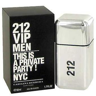 212 Vip By Carolina Herrera Eau De Toilette Spray 1.7 Oz (men) V728-490509