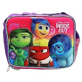Lunch Bag - Disney - Inside Out - Emotion Pink New 653668