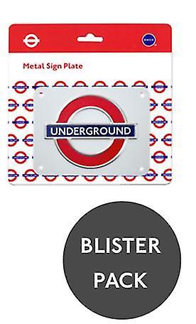 Tfl™3106 licensed london roundel™ metal sign medium size
