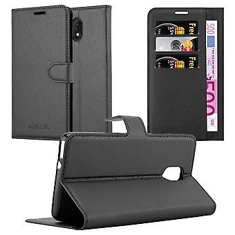 Cadorabo Hülle für WIKO LENNY 5 Case Cover - Handyhülle mit Magnetverschluss, Standfunktion und Kartenfach – Case Cover Schutzhülle Etui Tasche Book Klapp Style