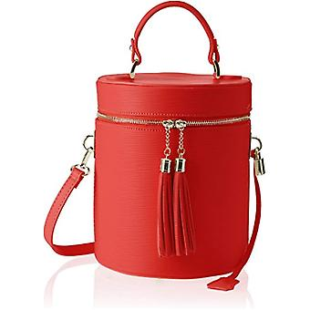 Chicca Bags 8638 Women's Shoulder bag Red (Red) 20x24x20 cm (W x H x L)