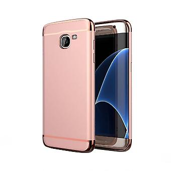 Back Cover 3 in 1 for Samsung J7 Pink rose gold