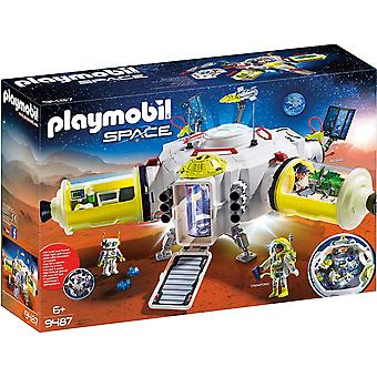 Playmobil 9487 Space Mars Raumstation mit funktionierendem Doppellaser-Shooter