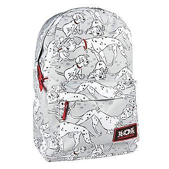 Cerd Mochila Instituto Disney 101 Dalmatas Backpack Casual - 44 cm - White (blanco)